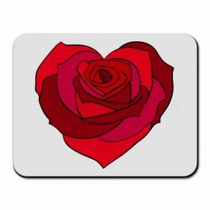 Podkładka pod mysz Rose heart