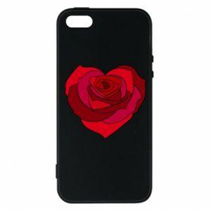 Etui na iPhone 5/5S/SE Rose heart