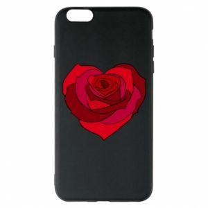 Etui na iPhone 6 Plus/6S Plus Rose heart