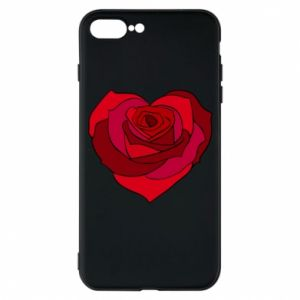 Etui na iPhone 7 Plus Rose heart