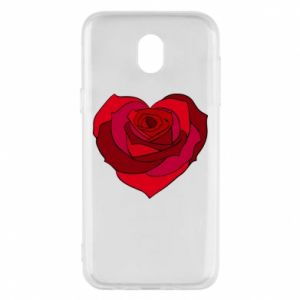 Phone case for Samsung J5 2017 Rose heart