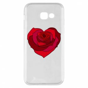 Etui na Samsung A5 2017 Rose heart