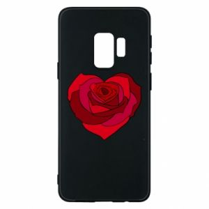 Etui na Samsung S9 Rose heart