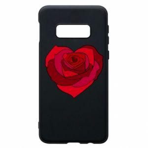 Etui na Samsung S10e Rose heart