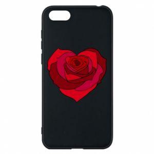 Etui na Huawei Y5 2018 Rose heart