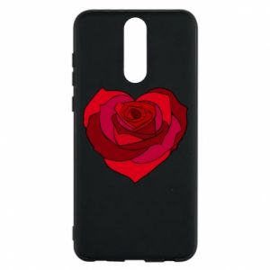 Etui na Huawei Mate 10 Lite Rose heart