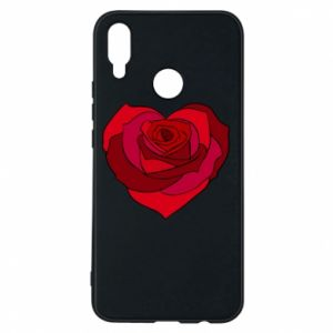 Etui na Huawei P Smart Plus Rose heart