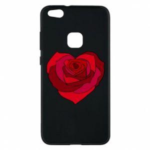 Etui na Huawei P10 Lite Rose heart