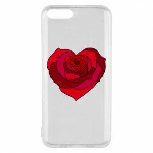 Etui na Xiaomi Mi6 Rose heart