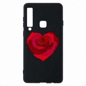 Etui na Samsung A9 2018 Rose heart