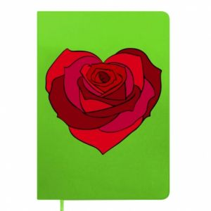 Notes Rose heart