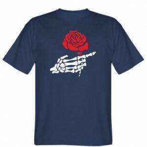 Koszulka Rose skeleton hand