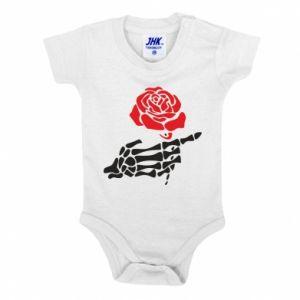 Body dla dzieci Rose skeleton hand