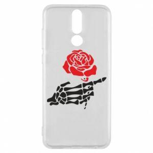 Etui na Huawei Mate 10 Lite Rose skeleton hand