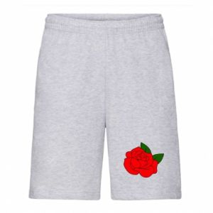 Men's shorts Rose with leaves
