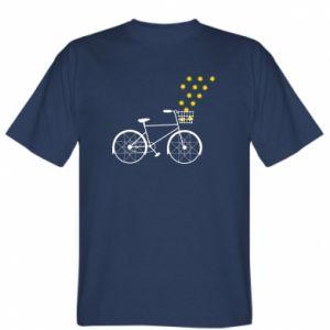 T-shirt Bike and stars