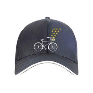 Cap Bike and stars