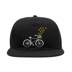 SnapBack Bike and stars