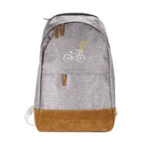 Miejski plecak Rower i gwiazdy