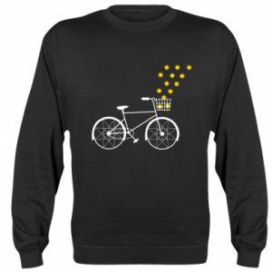 Sweatshirt Bike and stars