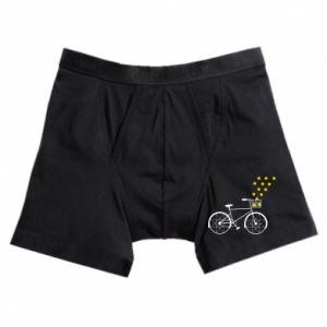 Boxer trunks Bike and stars