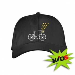Kids' cap Bike and stars