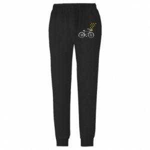 Męskie spodnie lekkie Bike and stars