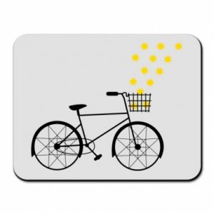 Mouse pad Bike and stars