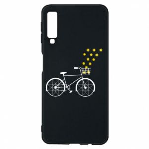 Phone case for Samsung A7 2018 Bike and stars