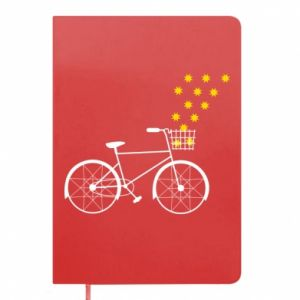 Notepad Bike and stars