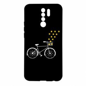 Xiaomi Redmi 9 Case Bike and stars