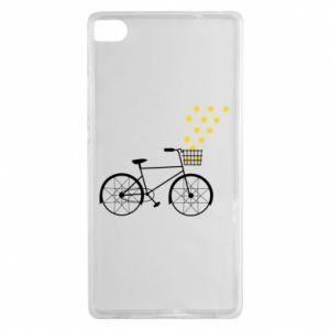 Huawei P8 Case Bike and stars