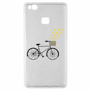 Huawei P9 Lite Case Bike and stars