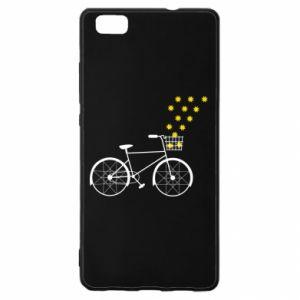 Huawei P8 Lite Case Bike and stars