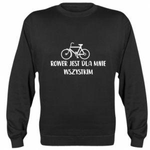 Bluza (raglan) Rower jest dla mnie wszystkim