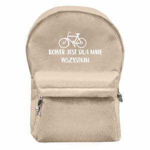 Plecak z przednią kieszenią Rower jest dla mnie wszystkim