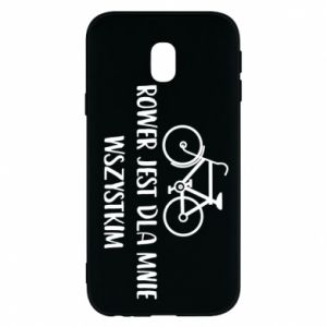 Phone case for Samsung J3 2017 The bike is everything to me