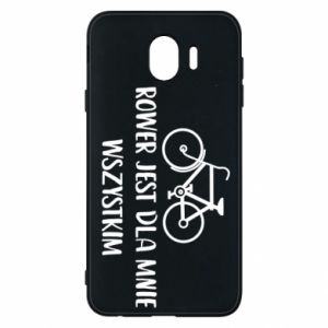 Phone case for Samsung J4 The bike is everything to me