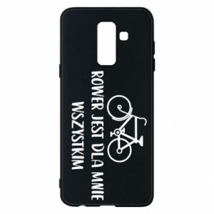 Phone case for Samsung A6+ 2018 The bike is everything to me