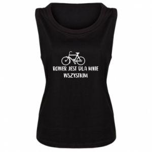 Damska koszulka Rower jest dla mnie wszystkim