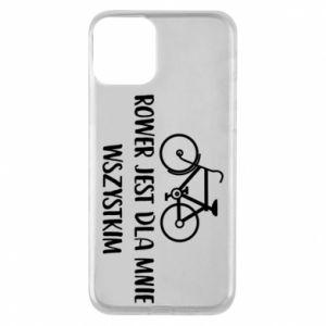 Etui na iPhone 11 Rower jest dla mnie wszystkim