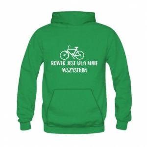 Kid's hoodie The bike is everything to me