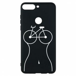 Phone case for Huawei Y7 Prime 2018 Bicycle