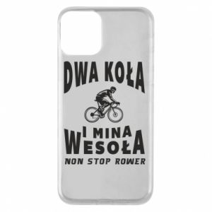 Phone case for iPhone 11 Bicyclista rides a bicycle