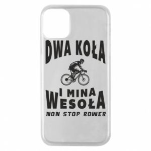 Phone case for iPhone 11 Pro Bicyclista rides a bicycle
