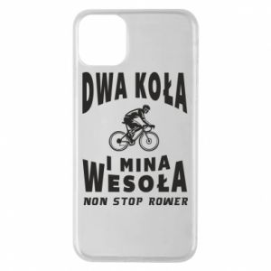 Phone case for iPhone 11 Pro Max Bicyclista rides a bicycle