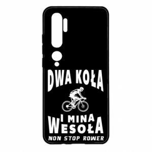 Xiaomi Mi Note 10 Case Bicyclista rides a bicycle