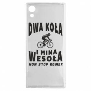 Sony Xperia XA1 Case Bicyclista rides a bicycle
