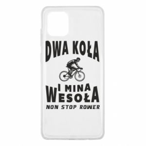 Samsung Note 10 Lite Case Bicyclista rides a bicycle