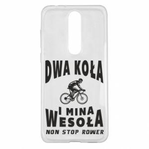 Etui na Nokia 5.1 Plus Rowerzysta na rowerze